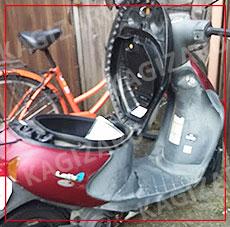 バイクの鍵作成・原付の鍵
